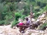 African Teens Having Forbidden Premarriage Sex In The Jungle