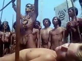 Hot Blonde caputured By African Tribe Members