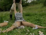 Passed Out Village Woman Maya Yamashita Gets Raped By Several Guys In The Field