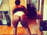 African bitch booty shake 1