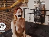 Redhead crying out her eyes