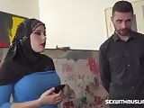 Arab hijab muslim big boobs teen get fucked by big dick